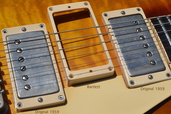 M-69 Pickup Rings Bartlett and Original 1959