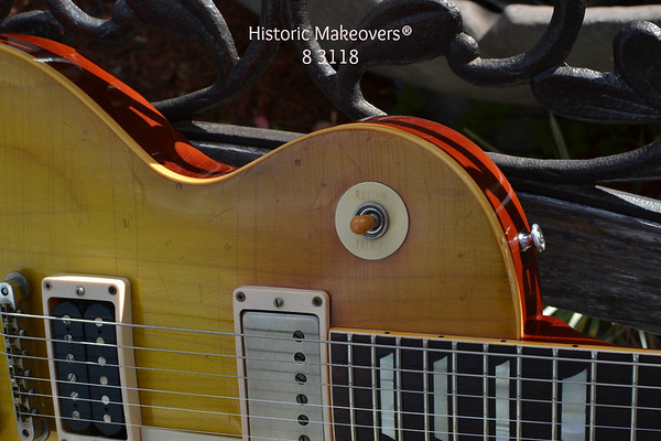 weather checking 1959 Gibson Jimmy Page burst
