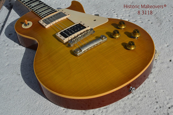 Historic Makeovers les paul Gibson Jimmy Page